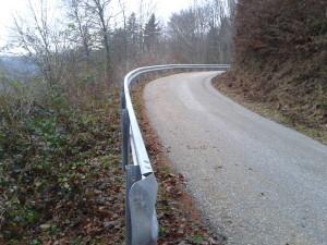 Cestna ograja Zabreznik 1