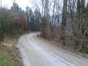 Cestna ograja Zabreznik